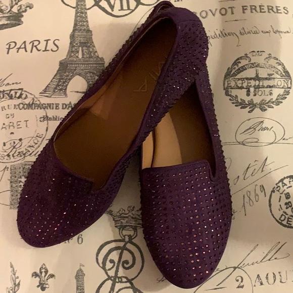 MIA flat shimmering shoes sz 7.5